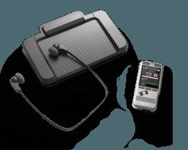 PocketMemo dicteer- en transcriptieset